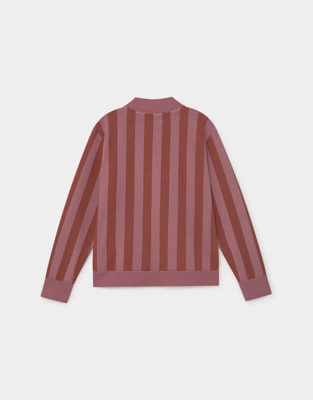 Bobo Stripped Zipped Sweatshirt